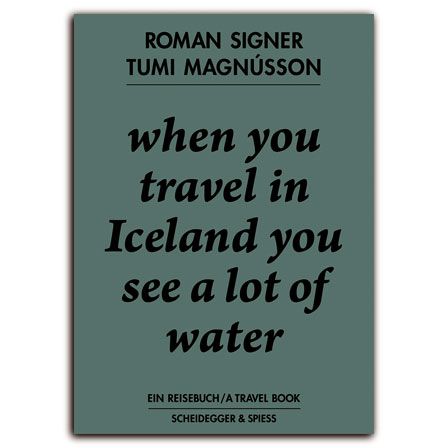 When You Travel in Iceland You See a Lot of Water